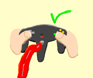 How to properly hold N64 controller