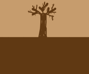 tree commits suicide