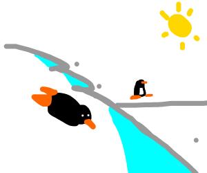 Penguin Sliding