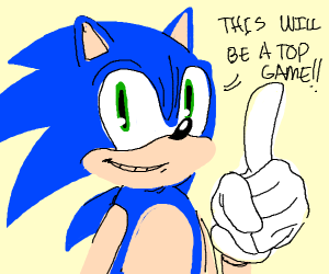 top game about sonic