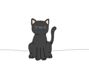 >w< cat