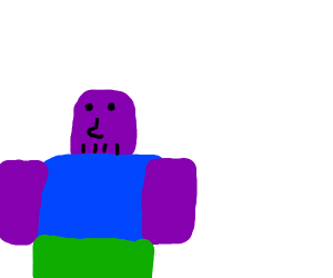 Thanos is a noob in ROBLOX
