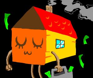 a rich house