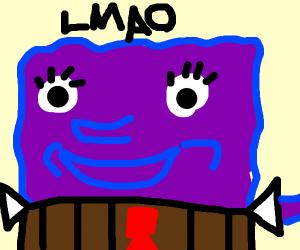 purple spongebob