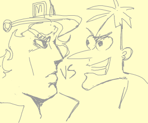 Doofenschmitz VS Jotaro