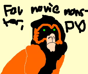 favorite movie monster P.I.O