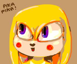 Knuckles very pikachu