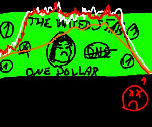 Mount Dollar erupts
