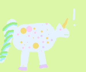 determined unicorn