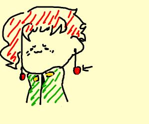 an earing