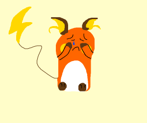 Depressed Raichu