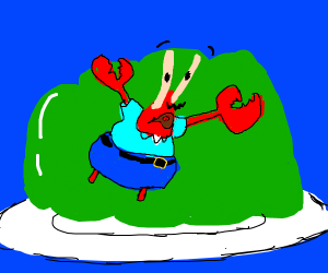 Mr.Krabs in Jello