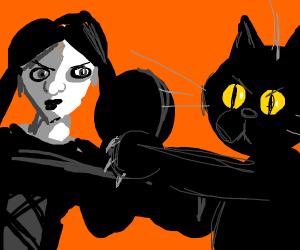 goth chick vs furry