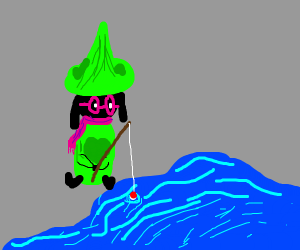 Ralsei Fishing