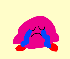 Kirby crying