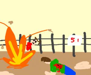 Storm on Area 51 fails terrebly