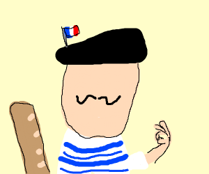 faceless french guy
