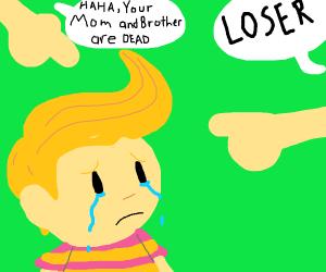 Everyone calls Lucas a loser