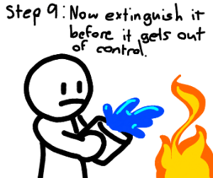 step 8: burn it