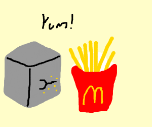 Cartoon Fries Drawception