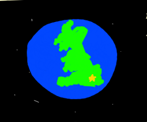The world is Britain