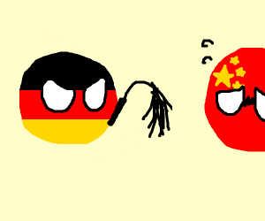 Germany whips China