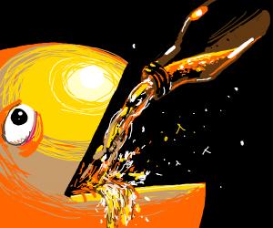 Pacman Gets Drunk