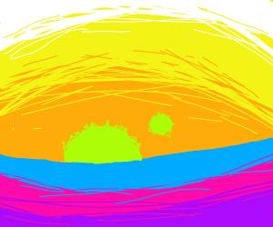 Otherwordly Sunset