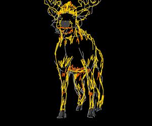Super Saiyan Deer