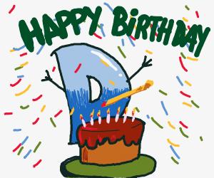 Drawception celebrating its birthday!