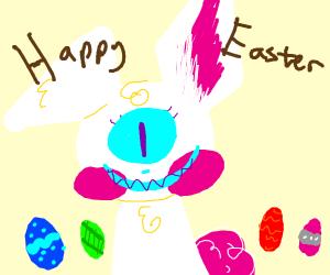 Cyclops Easter Bunny