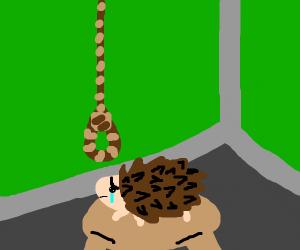 Sucicdle hedgehog