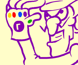 waluigi as thanos