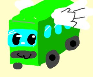 Magic winged bus