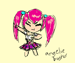 angelic buster dabbing