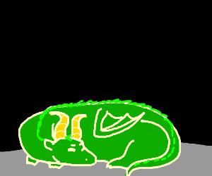Giant Dragon is Sleepy