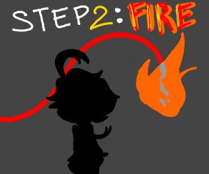STEP ONE: 1!