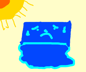 sad ice cube boi