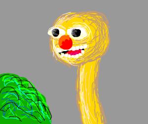 Half giraffe half yellmo