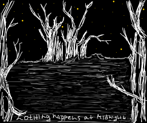 Nothing happens at midnight