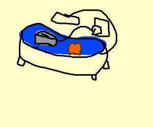 Toaster Bath
