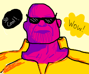 The coolest Thanos ever