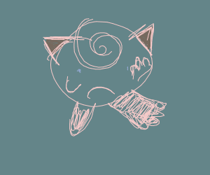 jiggly puff in a sketchy style ( :D )