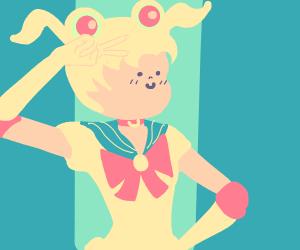 Sailor Moon has small face syndrome