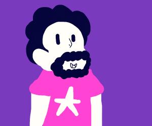 Steven Universe has a beard