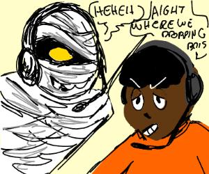 Mummy vs Gamer