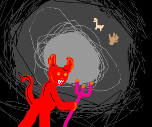 Satan from 10,000 B.C.