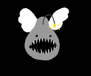 Angler Fish with wings