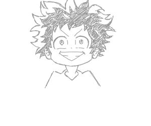 Izuku Midoriya My Hero Academia Drawception