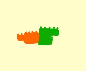 Lego Carrot